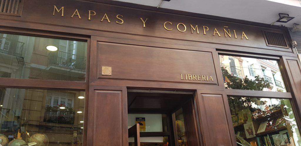 Librería Mapas y Compañía en Málaga