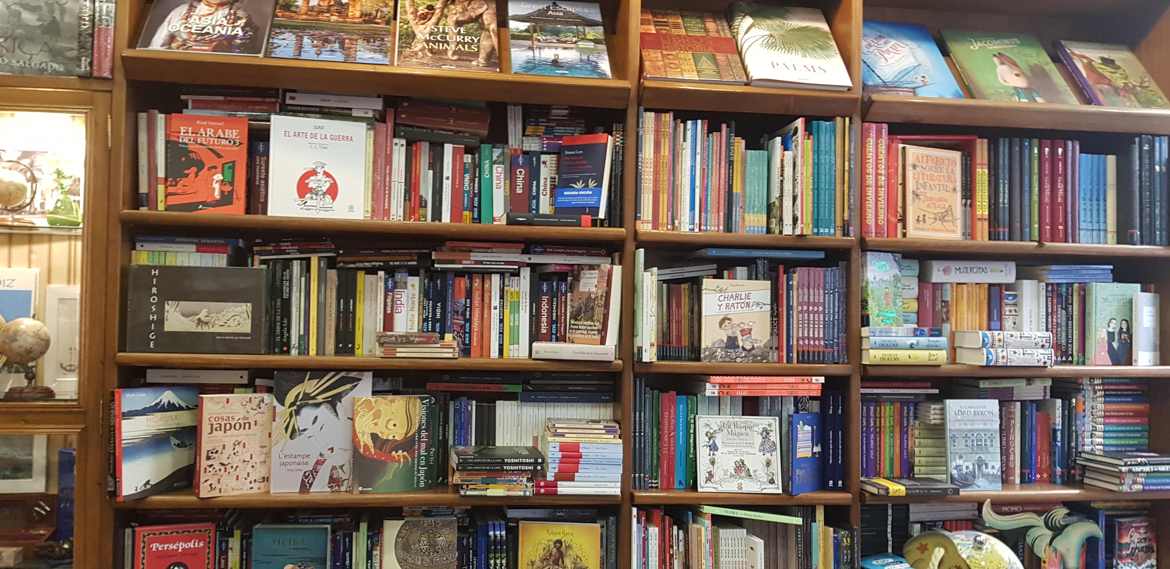 Librería en Málaga