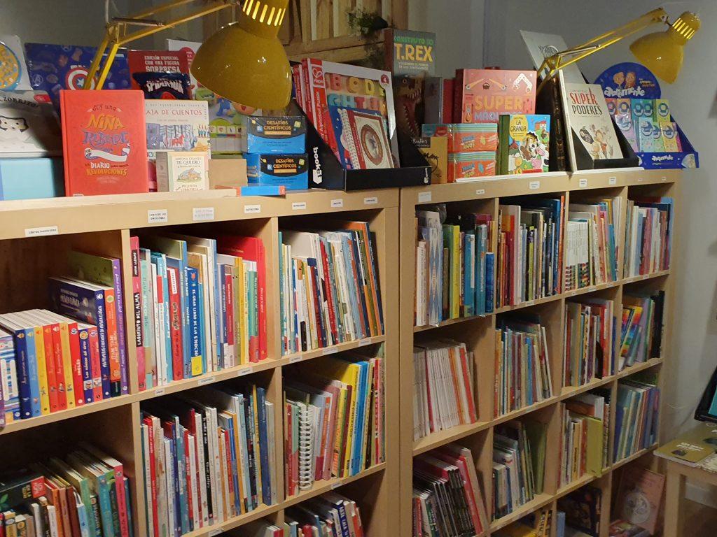 La Lumbre, librería en MAdrid
